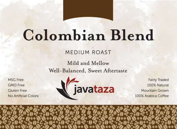 colombian blend ground sustainable coffee for sale
