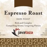 espresso roast ground single origin coffee