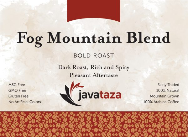 fog mountain blend ground direct trade coffee