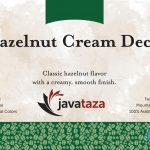 hazelnut cream decaf coffee swiss water processed
