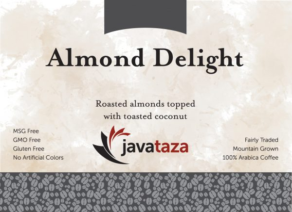 almond delight ground flavored coffee