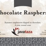 chocolate raspberry ground flavored coffee