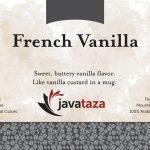 french vanilla ground flavored coffee