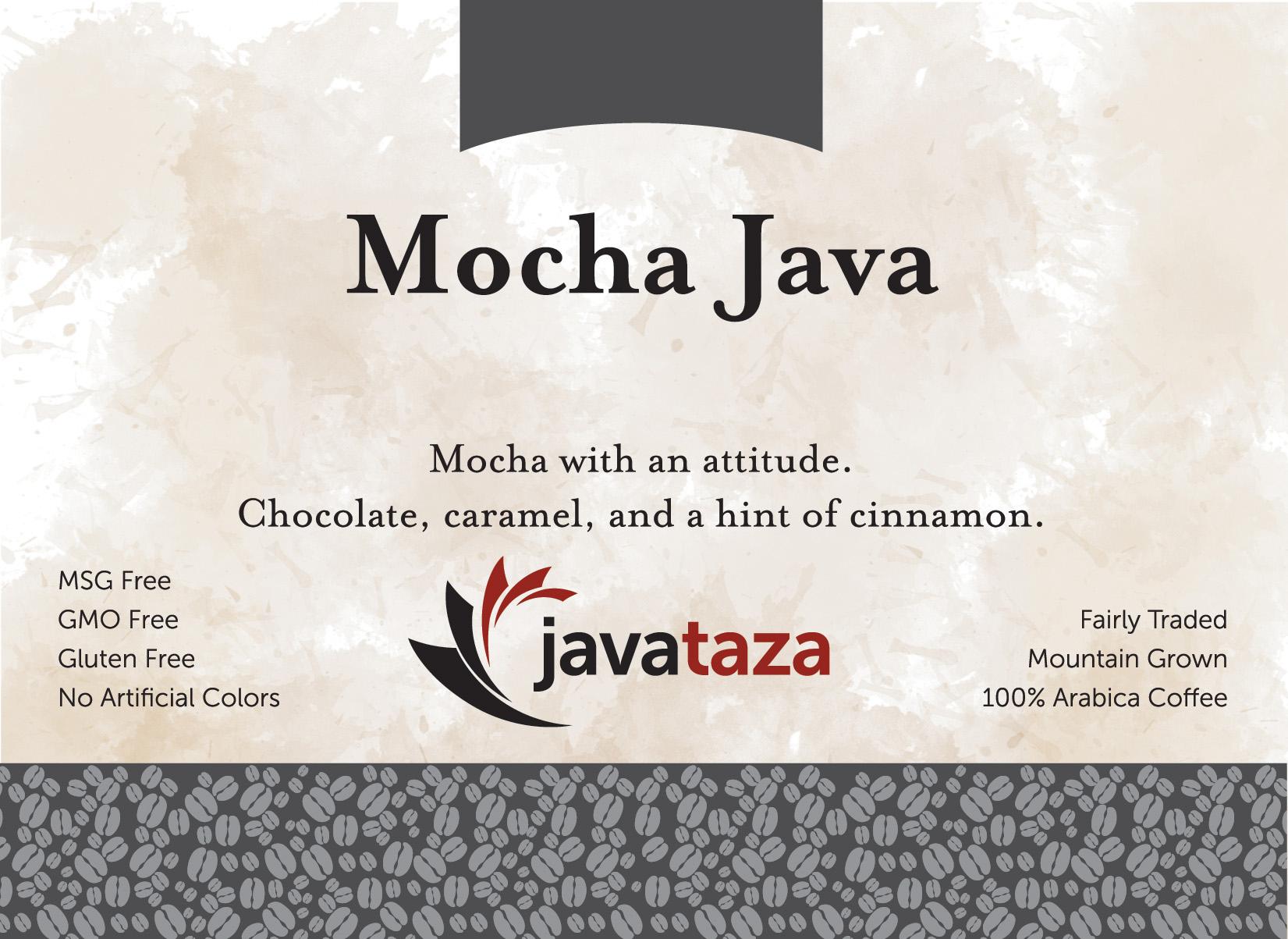 mocha java ground gourmet coffee