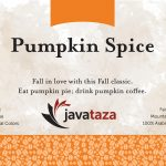 pumpkin spice ground fresh roasted coffee