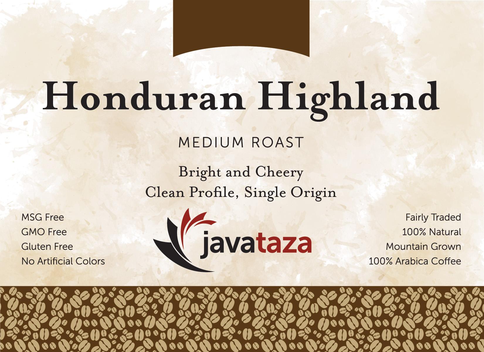 honduran highland ground direct trade coffee