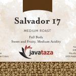 salvador 17 ground fair trade coffee