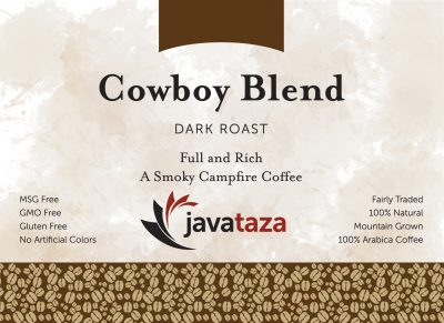cowboy blend whole bean coffee for sale