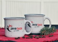 2 javataza coffee mugs for sale for christmas