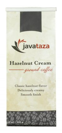 javataza coffee hazelnut cream ground coffee 12oz