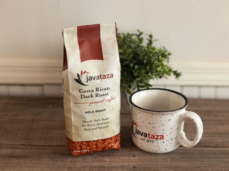 win free coffee and mug