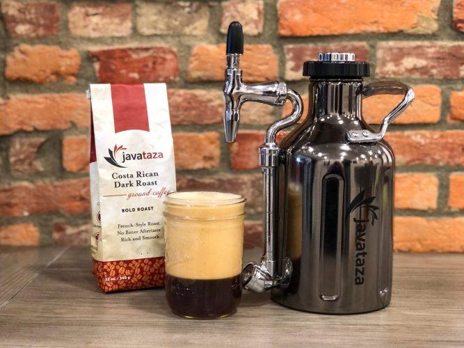 ukeg nitro coffee cold brewer from javataza coffee growler werks