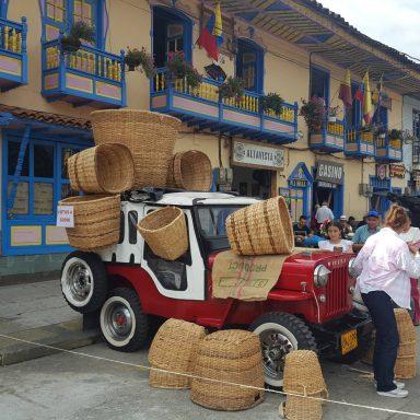 columbian coffee village