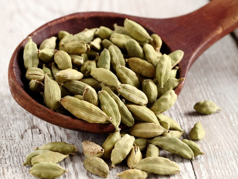 flavored coffee history about cardamom