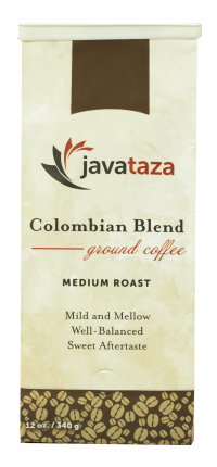 colombian blend ground sustainable coffee for sale 12oz