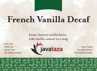french vanilla decaf coffee