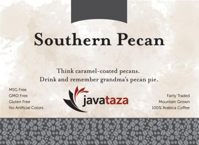 southern pecan ground flavored coffee