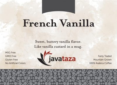 french vanilla ground flavored coffee