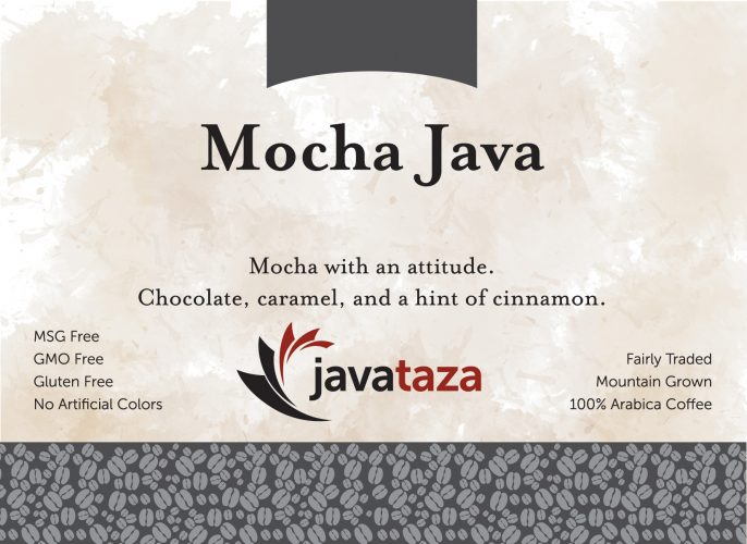 mocha java ground gourmet coffee