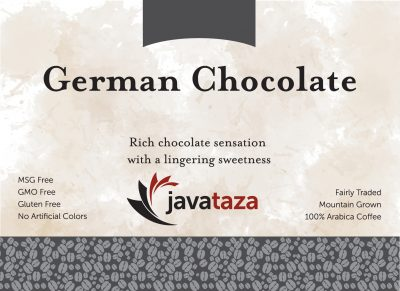 german chocolate ground gourmet coffee