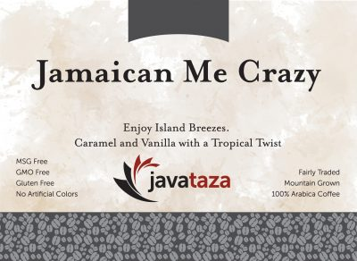 jamaican me crazy ground flavored gourmet coffee