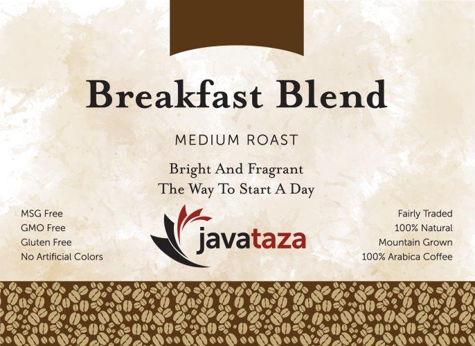 breakfast blend ground buy sustainable coffee