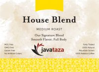 house blend ground specialty coffee