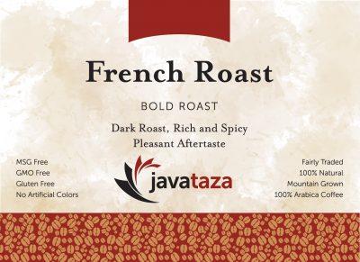 french roast ground gourmet coffee