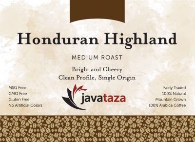 honduran highland ground direct trade coffee