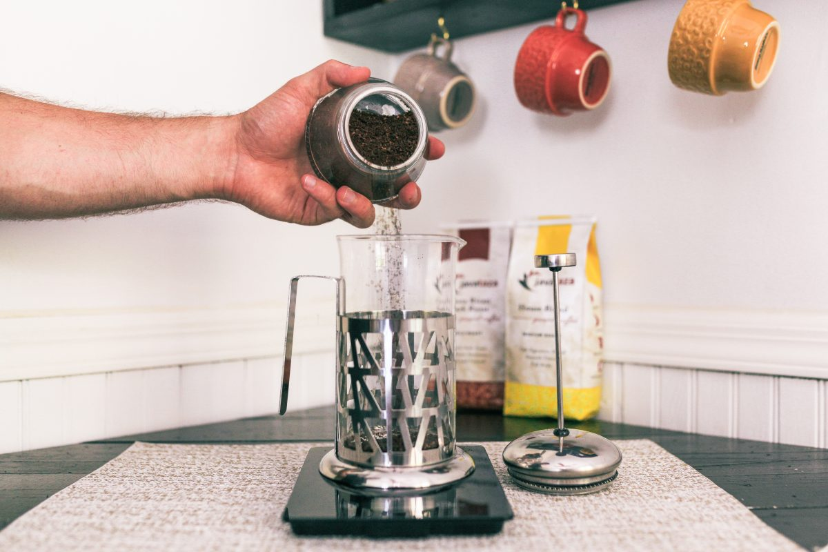 How To Make Coffee In A French Press A French Press Brew Guide