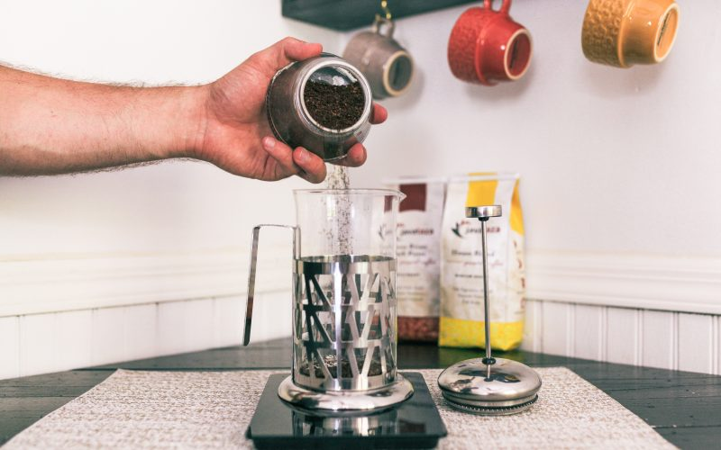 step 2 how to make coffee in a french press