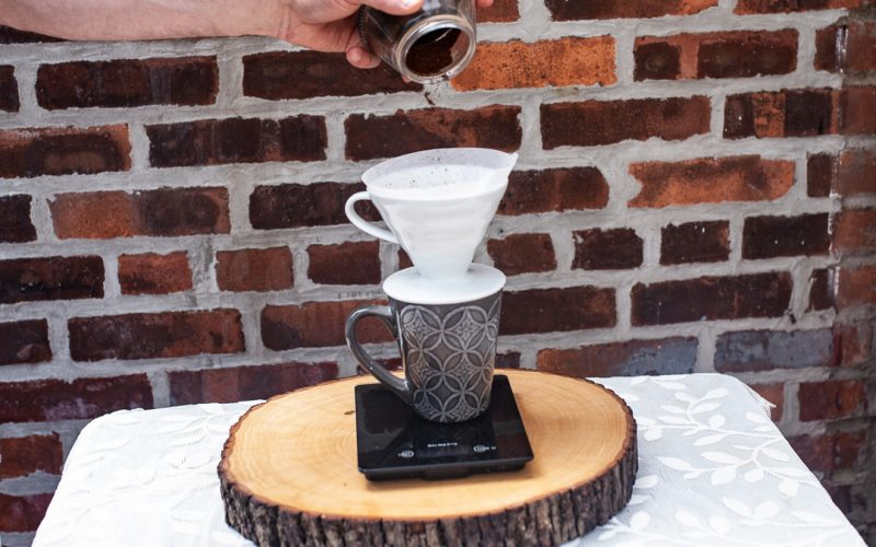 3 how to make pour over coffee in a v60