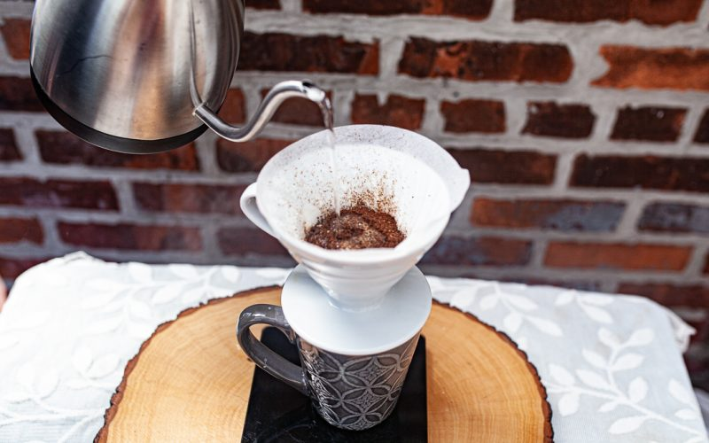 4 how to make a cup of pour over coffee