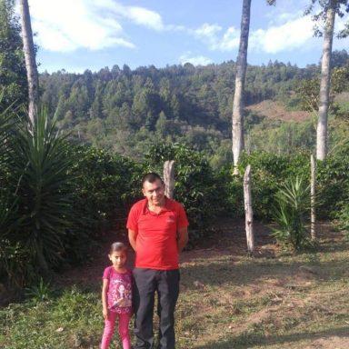 coffee from honduras grown by francico javier 300 lbs
