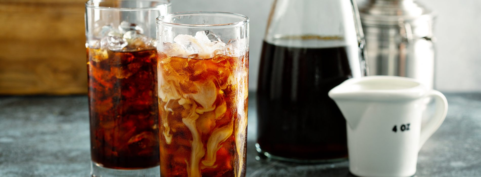 cold brew coffee with freshly roasted javataza cofee